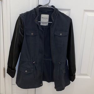 aero denim/leather jacket.Small, $15 or negotiate!